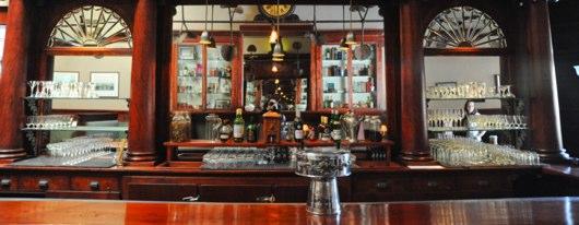 Comstock Saloon Mahogany Bar